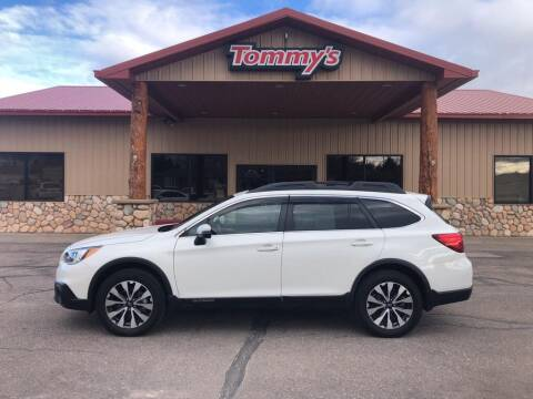 2017 Subaru Outback for sale at Tommy's Car Lot in Chadron NE
