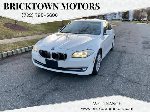 2011 BMW 5 Series for sale at Bricktown Motors in Brick NJ