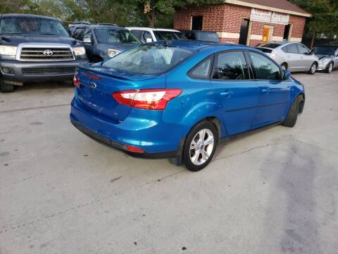 2012 Ford Focus for sale at El Jasho Motors in Grand Prairie TX