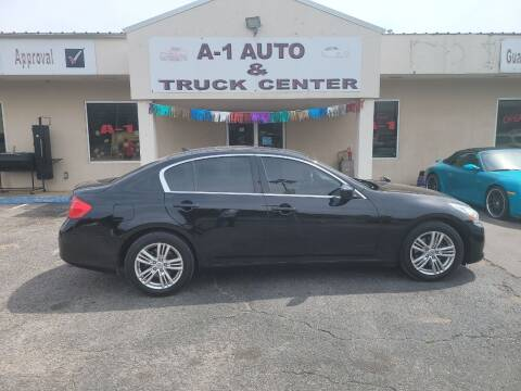 2013 Infiniti G37 Sedan for sale at A-1 AUTO AND TRUCK CENTER in Memphis TN