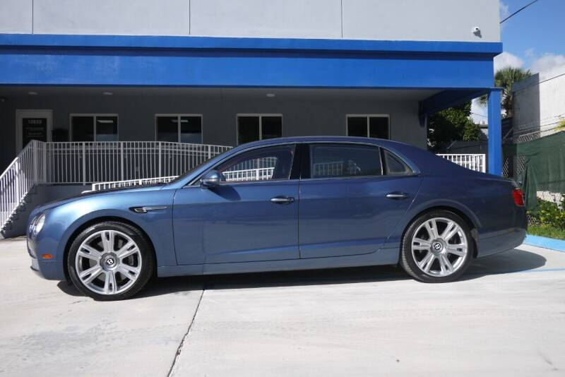 2014 Bentley Flying Spur for sale at PERFORMANCE AUTO WHOLESALERS in Miami FL