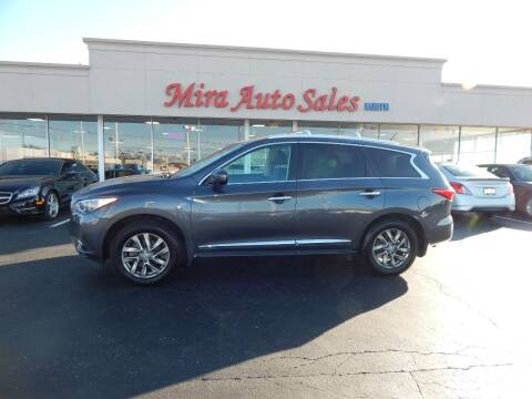 2014 Infiniti QX60 for sale at Mira Auto Sales in Dayton OH