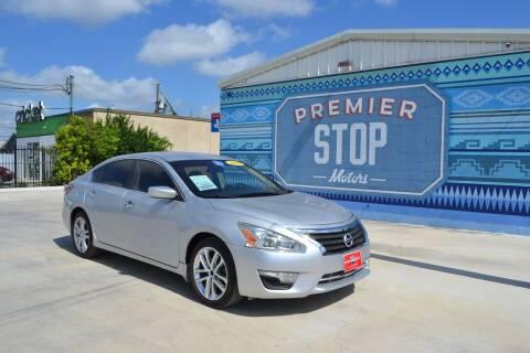 2013 Nissan Altima for sale at PREMIER STOP MOTORS LLC in San Antonio TX