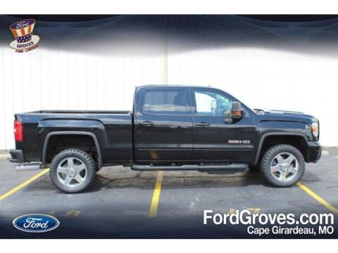 2018 GMC Sierra 2500HD for sale at JACKSON FORD GROVES in Jackson MO