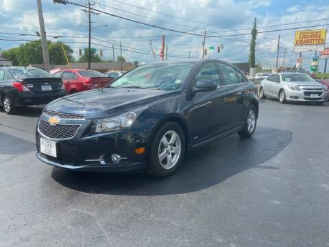 2014 Chevrolet Cruze for sale at Rucker's Auto Sales Inc. in Nashville TN