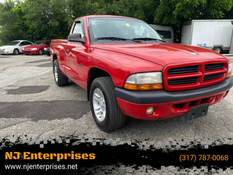 2001 Dodge Dakota for sale at NJ Enterprises in Indianapolis IN