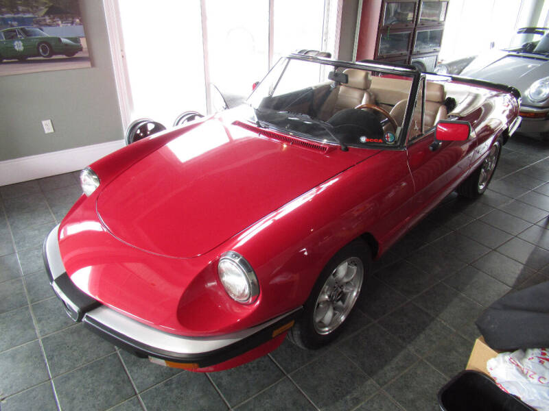1987 Alfa Romeo Spider for sale at Nort Northam Collection in Winter Park FL