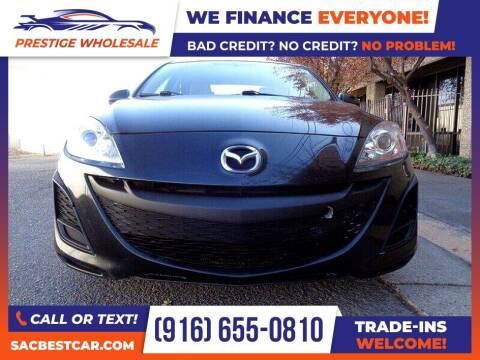 2010 Mazda MAZDA3 for sale at Prestige Wholesale in Sacramento CA