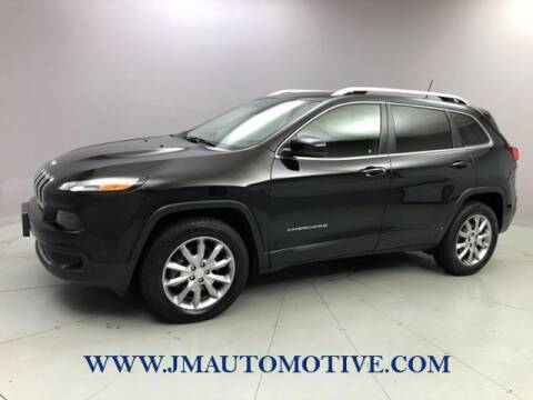 2018 Jeep Cherokee for sale at J & M Automotive in Naugatuck CT