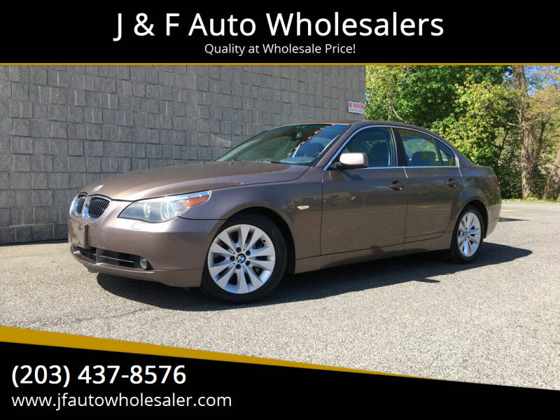 2004 BMW 5 Series for sale at J & F Auto Wholesalers in Waterbury CT