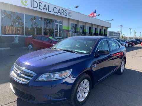 2011 Ford Taurus for sale at Ideal Cars East Main in Mesa AZ