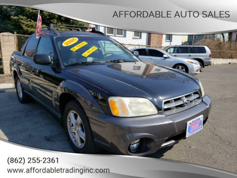 2005 Subaru Baja for sale at Affordable Auto Sales in Irvington NJ
