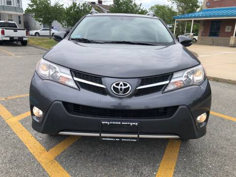 2014 Toyota RAV4 for sale at Welcome Motors LLC in Haverhill MA