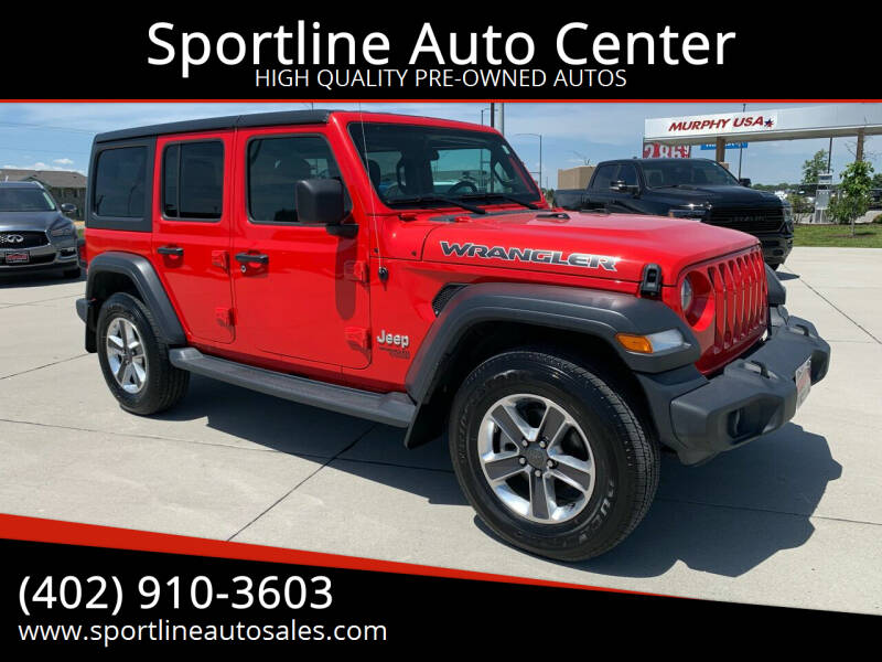 2019 Jeep Wrangler Unlimited for sale at Sportline Auto Center in Columbus NE
