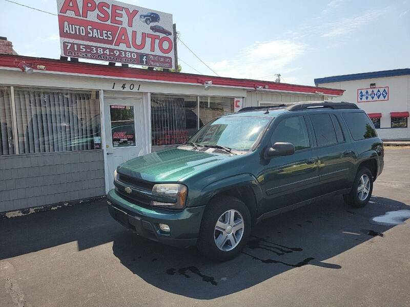 2005 Chevrolet TrailBlazer EXT for sale at Apsey Auto in Marshfield WI