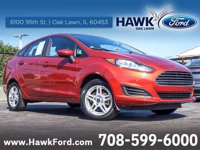 2018 Ford Fiesta for sale at Hawk Ford of Oak Lawn in Oak Lawn IL