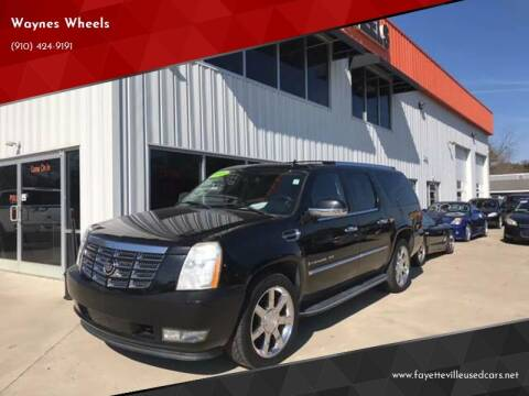 2008 Cadillac Escalade ESV for sale at Waynes Wheels in Fayetteville NC