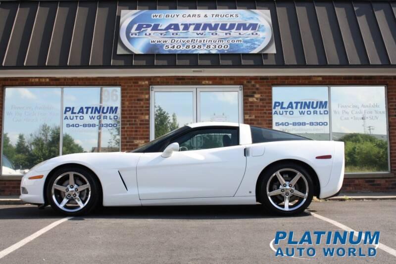 2007 Chevrolet Corvette for sale at Platinum Auto World in Fredericksburg VA