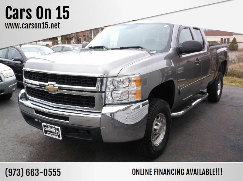 2007 Chevrolet Silverado 2500HD for sale at Cars On 15 in Lake Hopatcong NJ