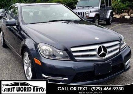 2013 Mercedes-Benz C-Class for sale at First World Auto in Jamaica NY