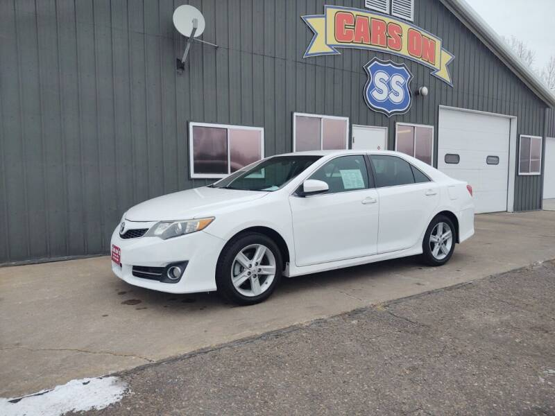 2014 Toyota Camry for sale at CARS ON SS in Rice Lake WI