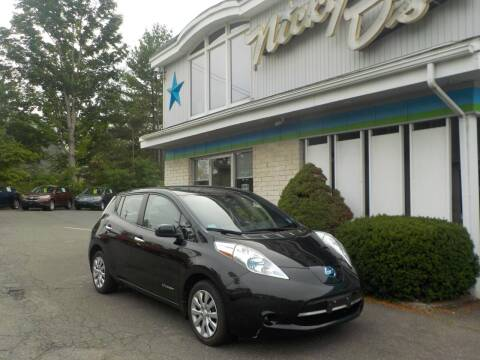 2013 Nissan LEAF for sale at Nicky D's in Easthampton MA