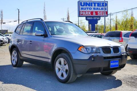2004 BMW X3 for sale at United Auto Sales in Anchorage AK