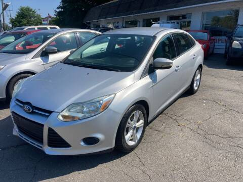 2013 Ford Focus for sale at ENFIELD STREET AUTO SALES in Enfield CT
