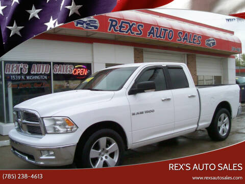 2011 RAM Ram Pickup 1500 for sale at Rex's Auto Sales in Junction City KS