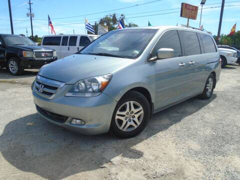 2007 Honda Odyssey for sale at J & F AUTO SALES in Houston TX