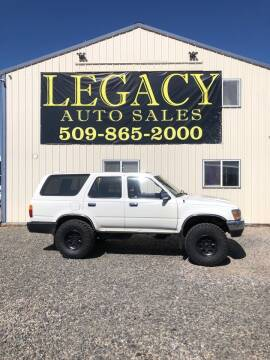 1995 Toyota 4Runner for sale at Legacy Auto Sales in Toppenish WA