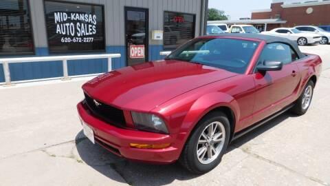 2005 Ford Mustang for sale at Mid Kansas Auto Sales in Pratt KS