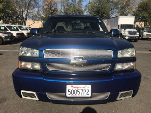 2004 Chevrolet Silverado 1500 SS for sale at EXPRESS CREDIT MOTORS in San Jose CA
