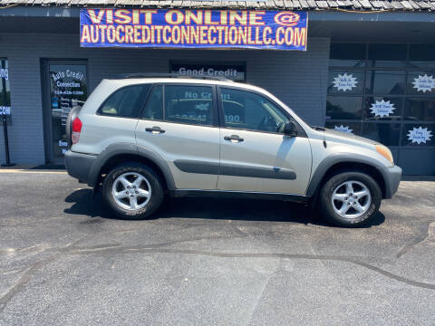 2001 Toyota RAV4 for sale at Auto Credit Connection LLC in Uniontown PA