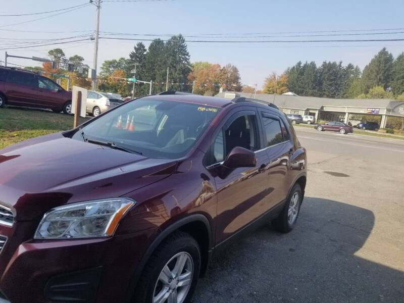 2016 Chevrolet Trax for sale at MGM Auto Sales in Cortland NY