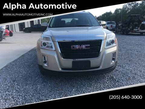 2010 GMC Terrain for sale at Alpha Automotive in Odenville AL