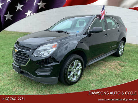 2016 Chevrolet Equinox for sale at Dawsons Auto & Cycle in Glen Burnie MD