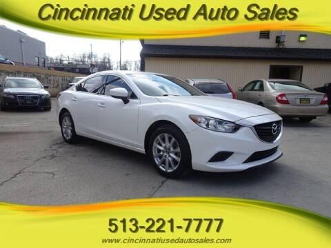 2017 Mazda MAZDA6 for sale at Cincinnati Used Auto Sales in Cincinnati OH