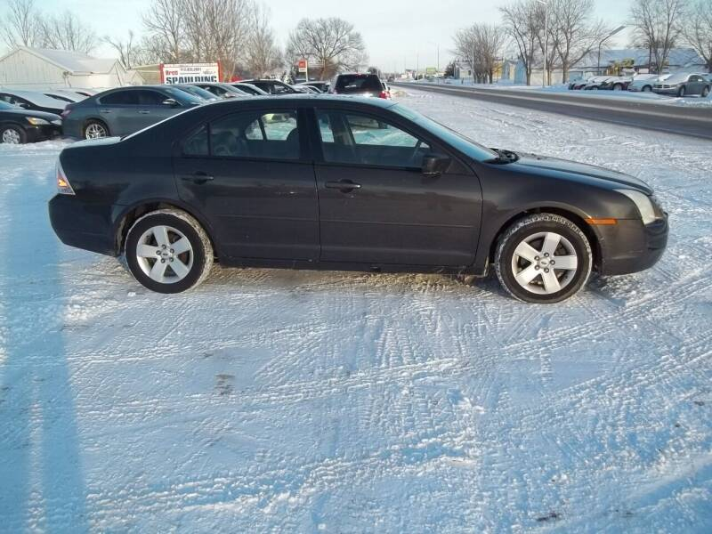 2006 Ford Fusion for sale at BRETT SPAULDING SALES in Onawa IA