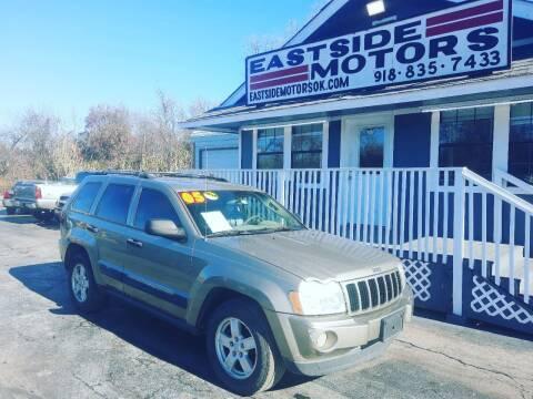 2005 Jeep Grand Cherokee for sale at EASTSIDE MOTORS in Tulsa OK