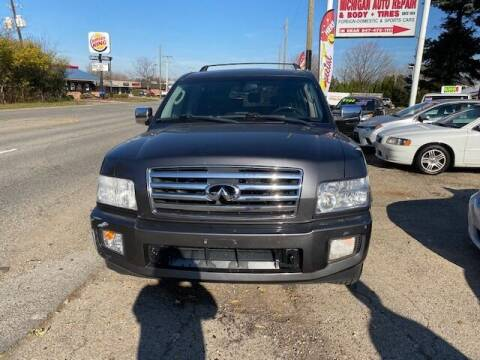 2005 Infiniti QX56 for sale at NORTH CHICAGO MOTORS INC in North Chicago IL