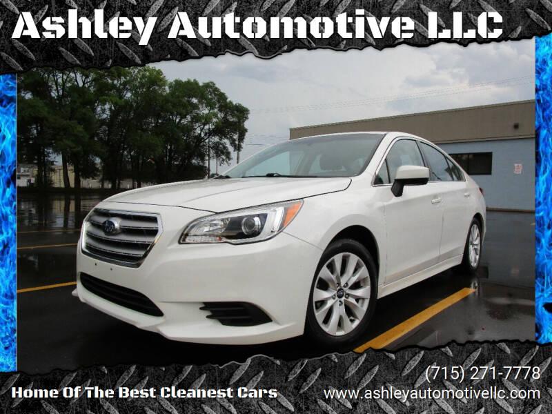 2016 Subaru Legacy for sale at Ashley Automotive LLC in Altoona WI