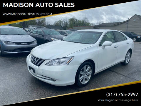 2008 Lexus ES 350 for sale at MADISON AUTO SALES in Indianapolis IN