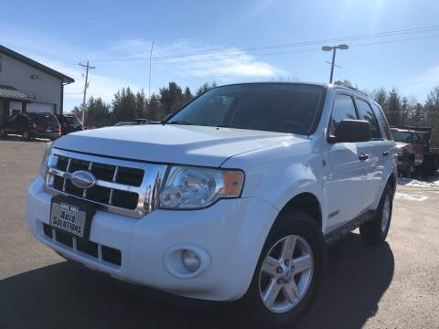 2008 Ford Escape Hybrid for sale at Lakes Area Auto Solutions in Baxter MN