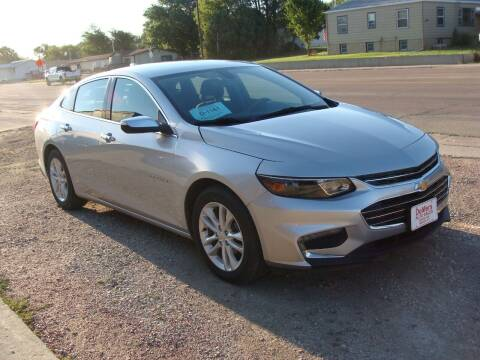 2017 Chevrolet Malibu for sale at DeMers Auto Sales in Winner SD