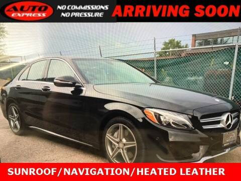 2015 Mercedes-Benz C-Class for sale at Auto Express in Lafayette IN
