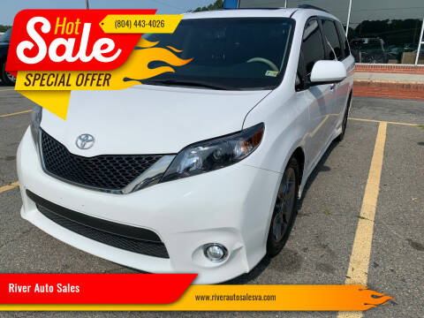 2014 Toyota Sienna for sale at River Auto Sales in Tappahannock VA