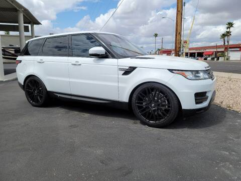 2017 Land Rover Range Rover Sport for sale at AZ WORK TRUCKS AND VANS in Mesa AZ