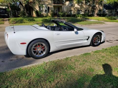1998 Chevrolet Corvette for sale at Progressive Auto Plex in San Antonio TX