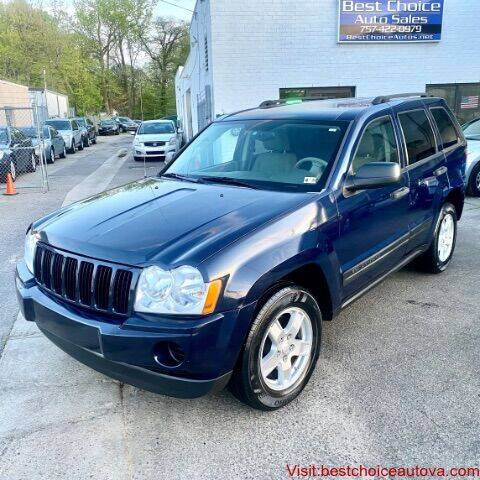 2006 Jeep Grand Cherokee for sale at Best Choice Auto Sales in Virginia Beach VA